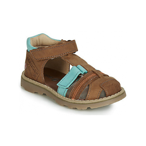 GBB SEVILLOU boys's Children's Sandals in Brown