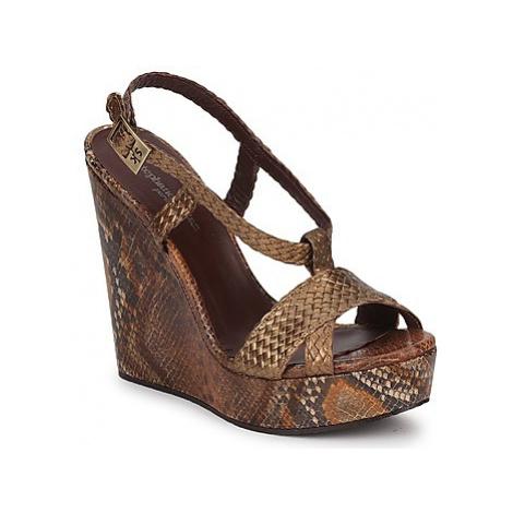 Stéphane Kelian CAMERON women's Sandals in Gold