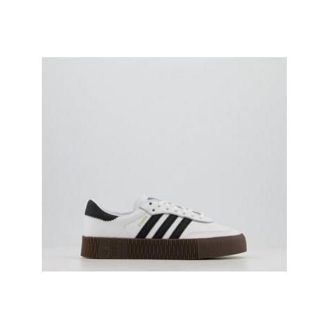 Adidas Samba Rose WHITE CORE BLACK GUM