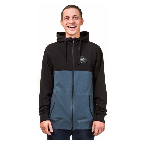 sweatshirt Horsefeathers Reynolds Zip - Black - men´s