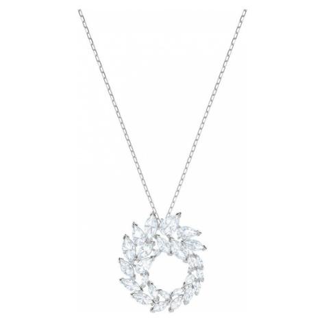 Swarovski Louison White Crystal Circle Necklace