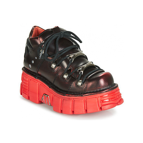 New Rock M-106N-C59 women's Shoes (Trainers) in Red