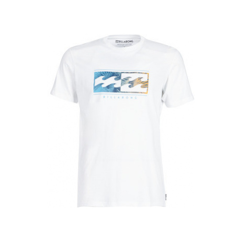 Billabong INVERSED TEE SS men's T shirt in White