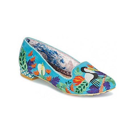 Irregular Choice YES YOU PELI CAN women's Shoes (Pumps / Ballerinas) in Blue