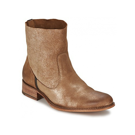 N.d.c. SANDRINE SOFTY BRILLO women's Mid Boots in Gold
