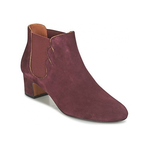 Heyraud FRANCELLE women's Low Ankle Boots in Bordeaux