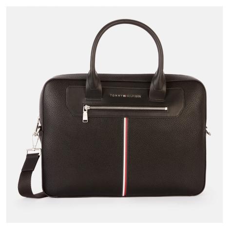 Tommy Hilfiger Men's Downtown Super Slim Laptop Bag - Black