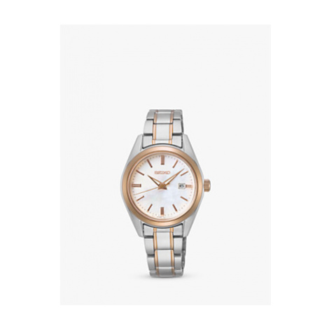 Seiko Women's Date Bracelet Strap Watch
