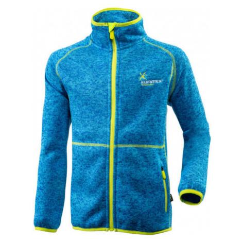 Klimatex SEM blue - Children's functional sweatshirt