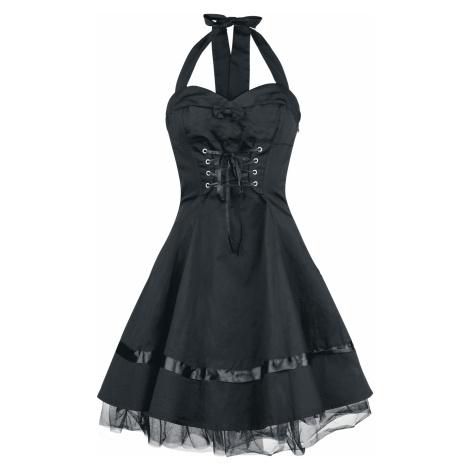 H&R London - Lace Cotton Dress - Dress - black