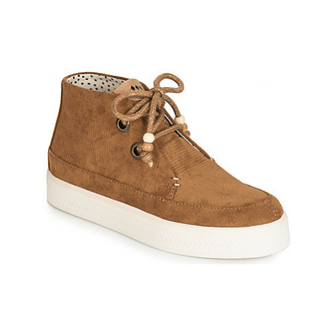 Armistice SONAR MID women's Shoes (High-top Trainers) in Brown