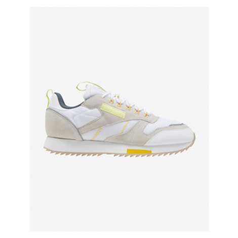 Reebok Classic Leather Ripple Trail Sneakers White Grey