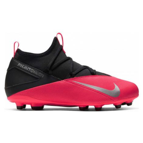 Nike JR PHANTHOM VISION CLUB 2 DF FG/MG black - Kids' football shoes