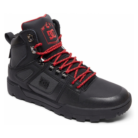 shoes DC Pure High -Top WR - XKSR/Black/Gray/Red - men´s