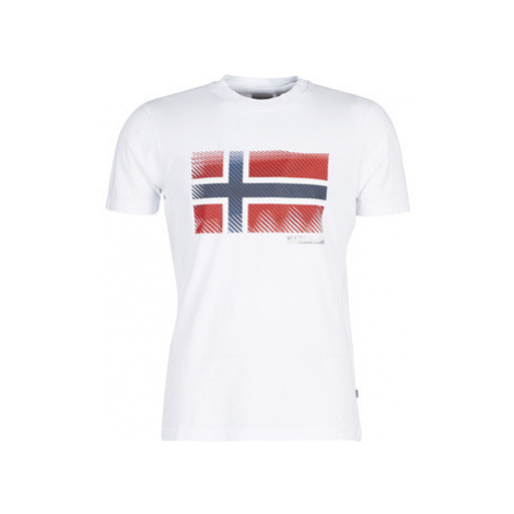 Napapijri SIBU men's T shirt in White