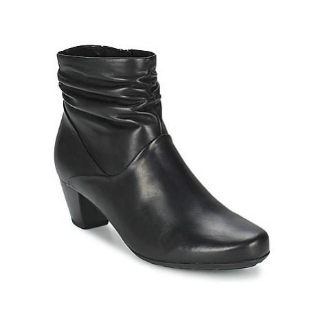 Gabor AKEN women's Low Ankle Boots in Black