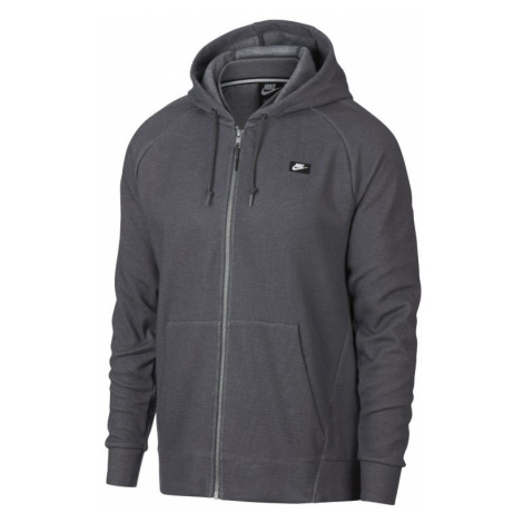 Nike Sportswear Optic Men's Full-Zip Hoodie - Grey