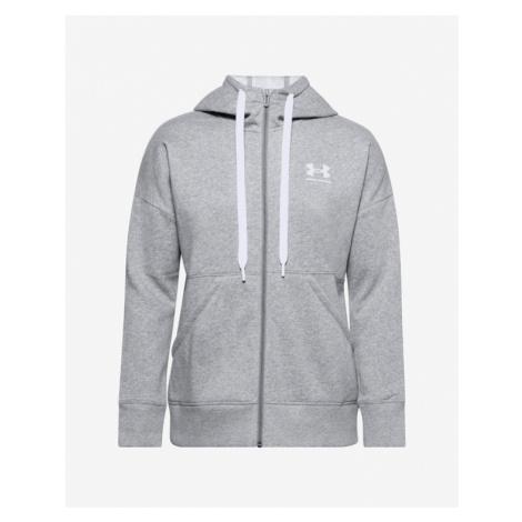 Under Armour Rival Fleece Full Zip Sweatshirt Grey
