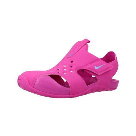 Nike SUNRAY PROTECT 2 (PS) girls's Children's Sandals in Pink