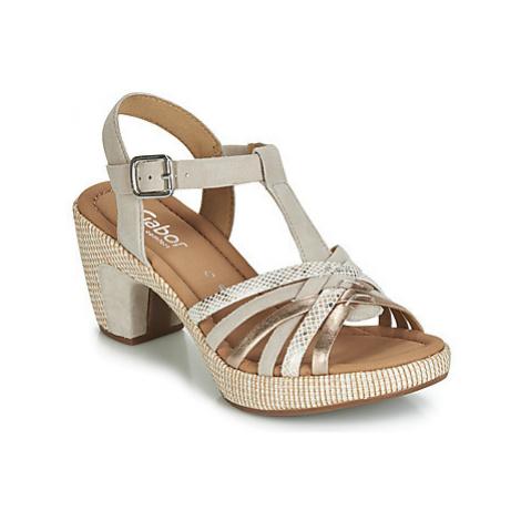 Gabor NARA women's Sandals in Beige