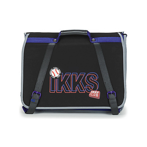 Ikks STRANGER COLLEGE CARTABLE 41 CM boys's Briefcase in Black