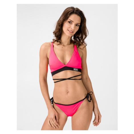 Diesel Milacy Bikini top Pink