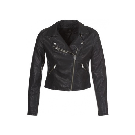 Only ONLVIGGA women's Leather jacket in Black