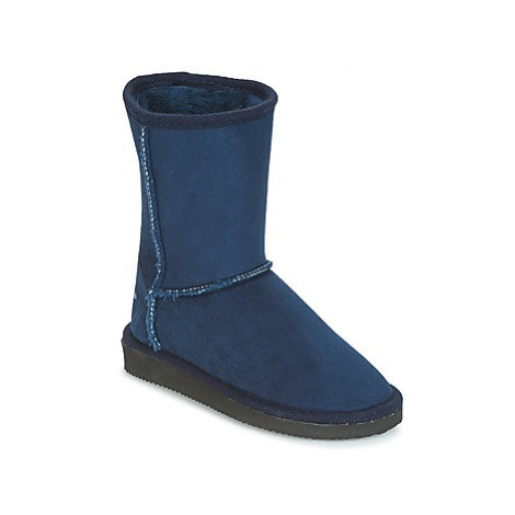 Citrouille et Compagnie ZOONO girls's Children's High Boots in Blue
