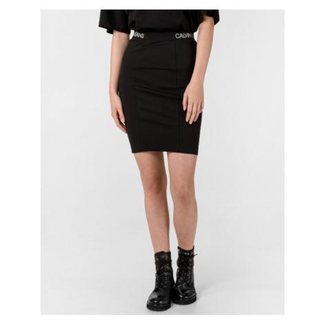 Calvin Klein Milano Skirt Black