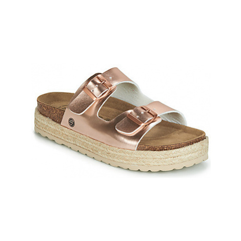 Betty London IKIWI women's Mules / Casual Shoes in Gold