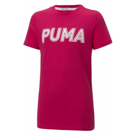 Puma MODERN SPORTS LOGO TEE G - Girls' T-shirt