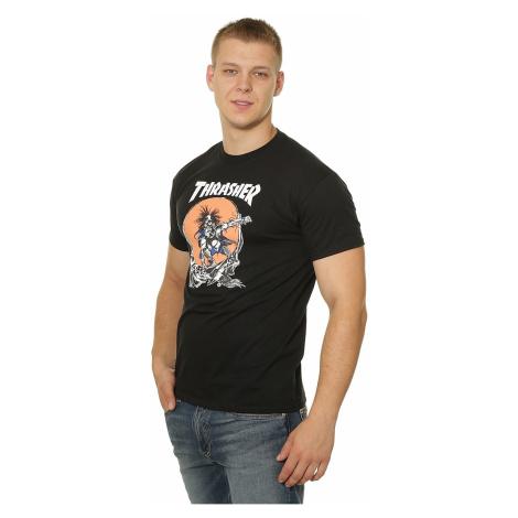 T-Shirt Thrasher Skate Outlaw - Black