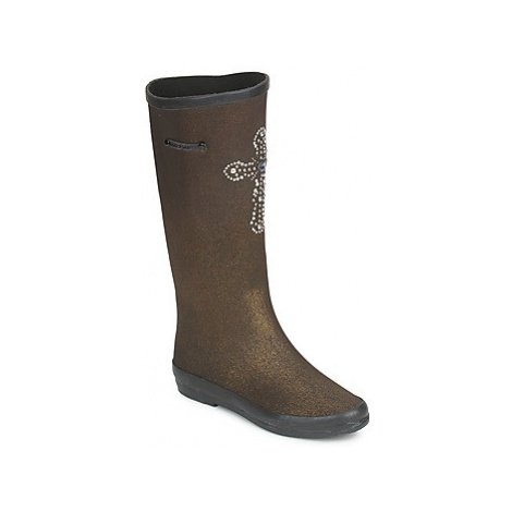Colors of California APONI women's High Boots in Gold