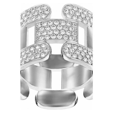 Ladies Swarovski Jewellery Cube Ring S 5139680