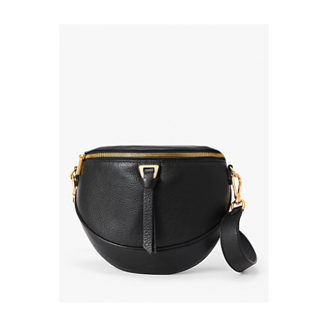 Coccinelle Joy Leather Cross Body Bag, Black