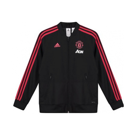 Manchester United Training Presentation Jacket - Black - Kids
