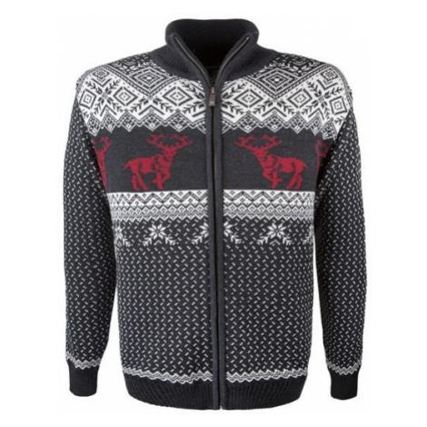 Kama MERINO SWEATER 4048 white - Men's knitted sweater