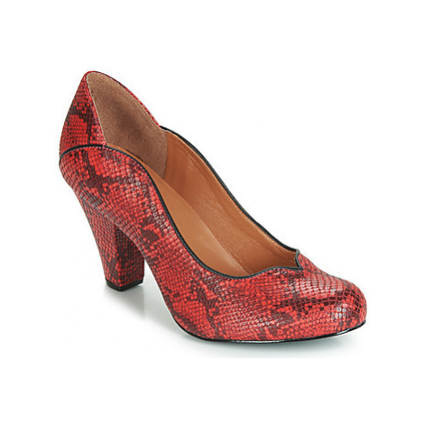 Cristofoli SNAKE MESTICO women's Court Shoes in Red Cristófoli