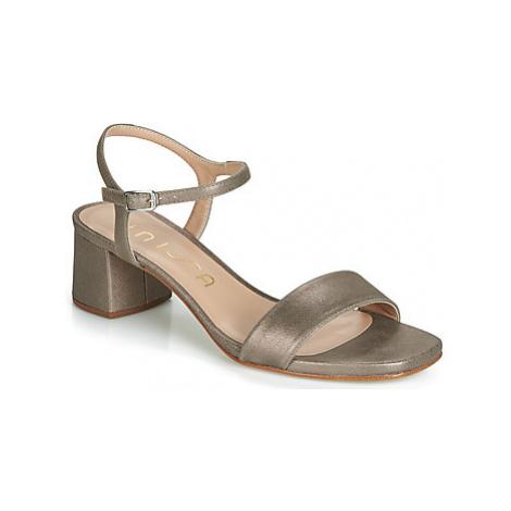 Unisa KRITA women's Sandals in Silver