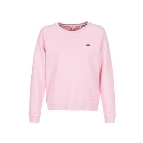 Levis RELAXED GRAPHIC CREW women's Sweatshirt in Pink Levi´s