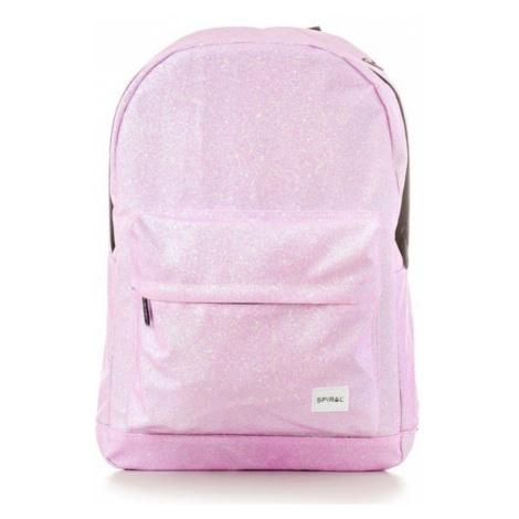 Spiral Glitter Backpack Bag Pink