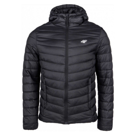 4F MEN´S JACKET black - Men's winter jacket