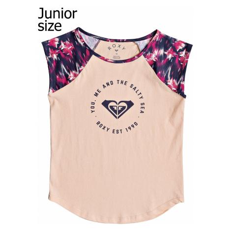T-Shirt Roxy Late Nights - MLJ1/Dress Blues Neon Waterfall