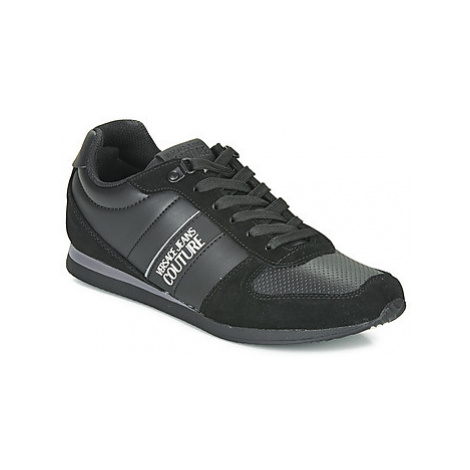 Versace Jeans Couture EOYUBSA1 men's Shoes (Trainers) in Black