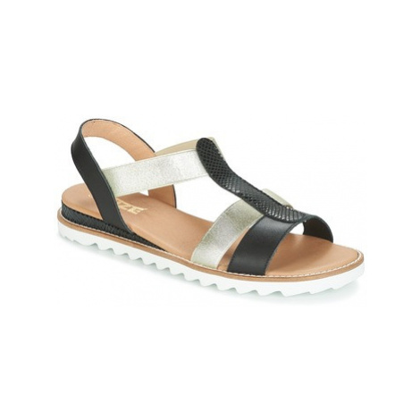 So Size SIBULA women's Sandals in Black