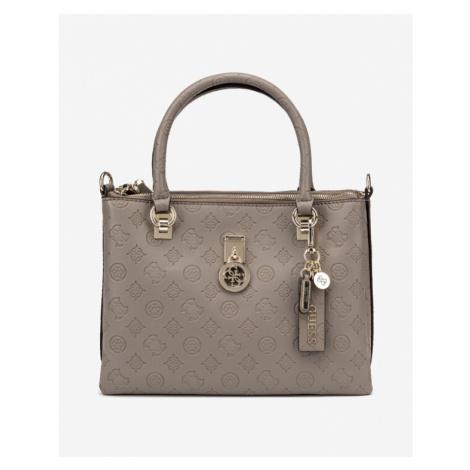 Guess Ninnette Status Handbag Brown