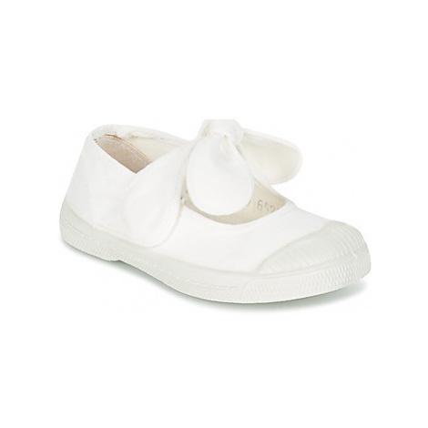 Bensimon TENNIS FLO girls's Children's Shoes (Pumps / Ballerinas) in White