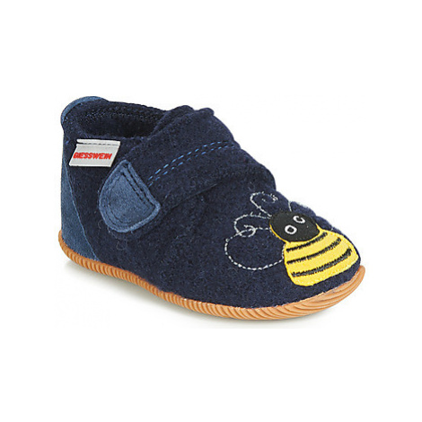 Giesswein OBERDING girls's Children's Slippers in Blue