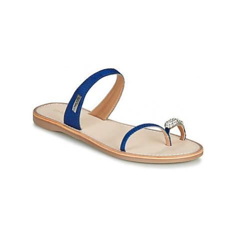 Les Tropéziennes par M Belarbi OLWEN women's Flip flops / Sandals (Shoes) in Blue