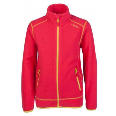 Lewro PERYS pink - Children's fleece sweatshirt